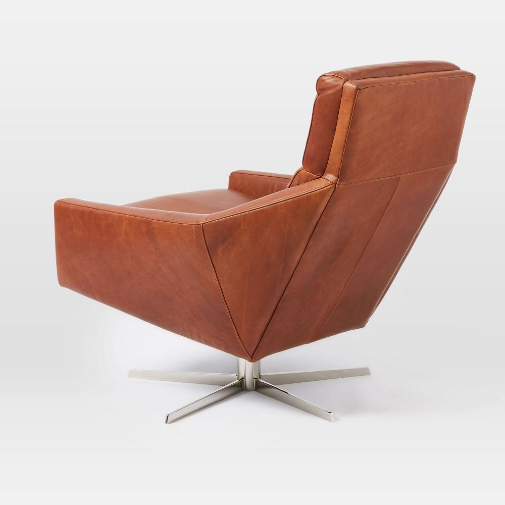 Austin Swivel Armchair | west elm UK