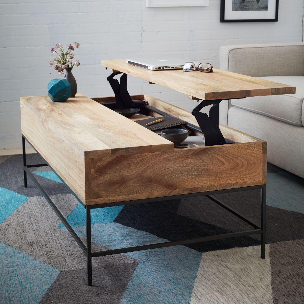 Industrial Storage Coffee Table West Elm Uk