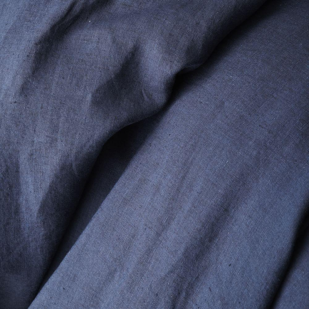 Belgian Flax Linen Duvet Cover + Pillowcases - Midnight