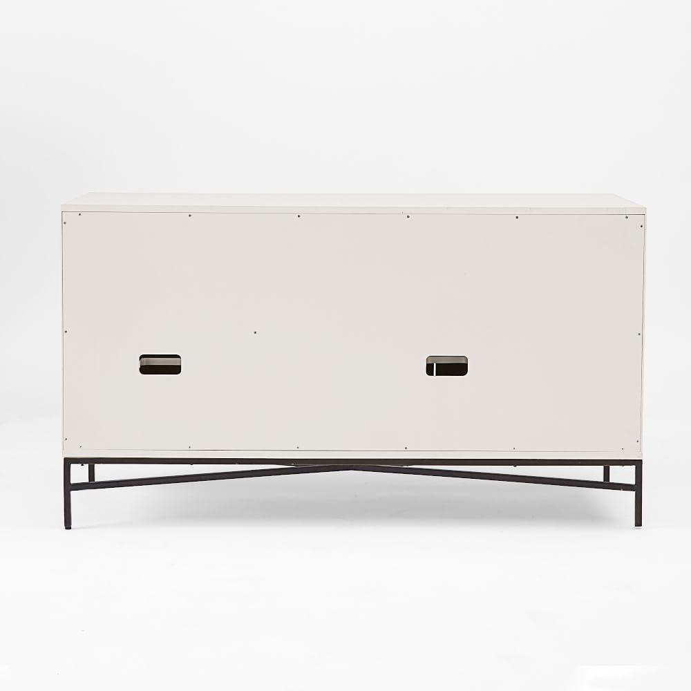 Wood Tiled Sideboard