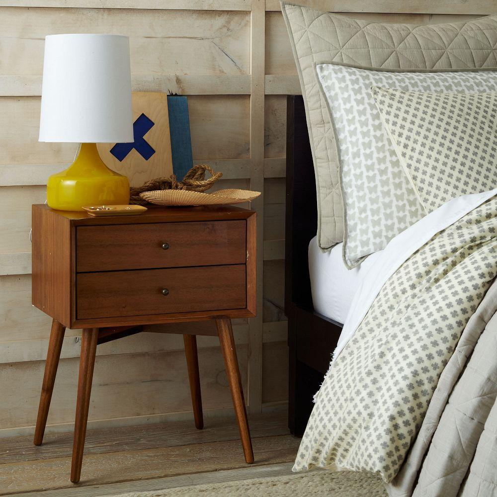 Mid century bedside table acorn - Pictures of bed side ...