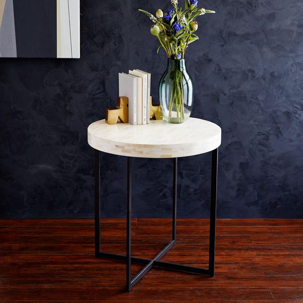 Bone Side Table