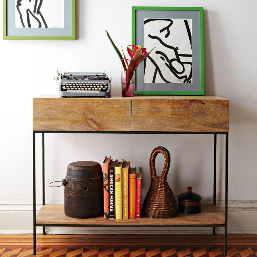 Industrial Storage Console West Elm Uk