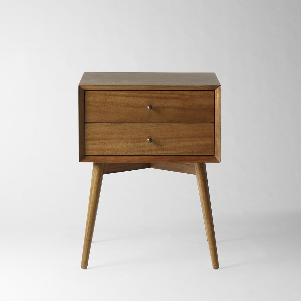 Mid century bedside table acorn - Modern bedside table ...
