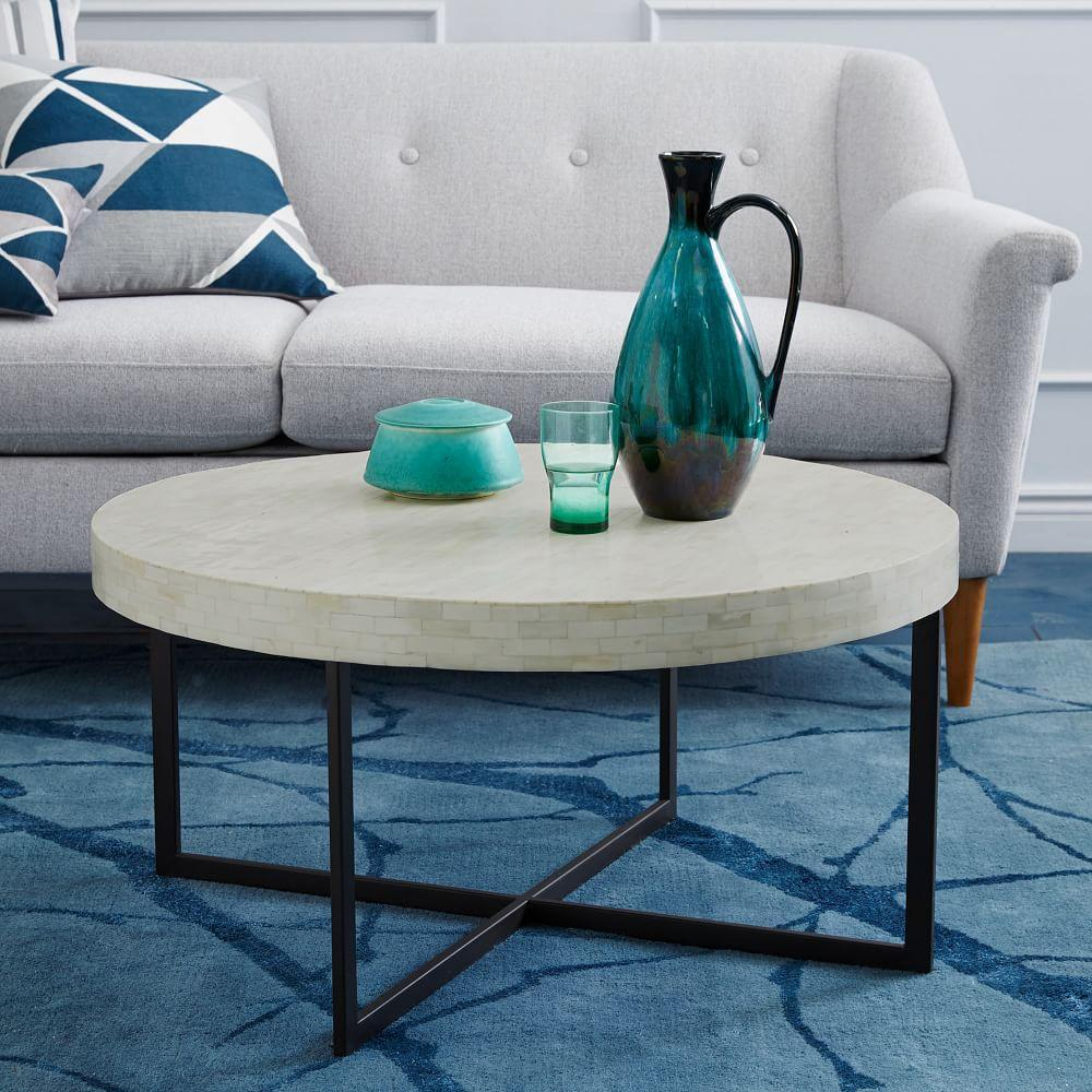 low bone coffee table west elm uk. Black Bedroom Furniture Sets. Home Design Ideas