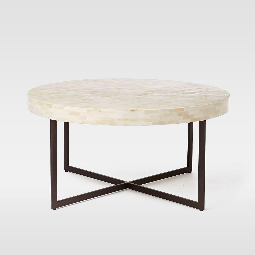 low bone coffee table west elm uk With west elm bone coffee table