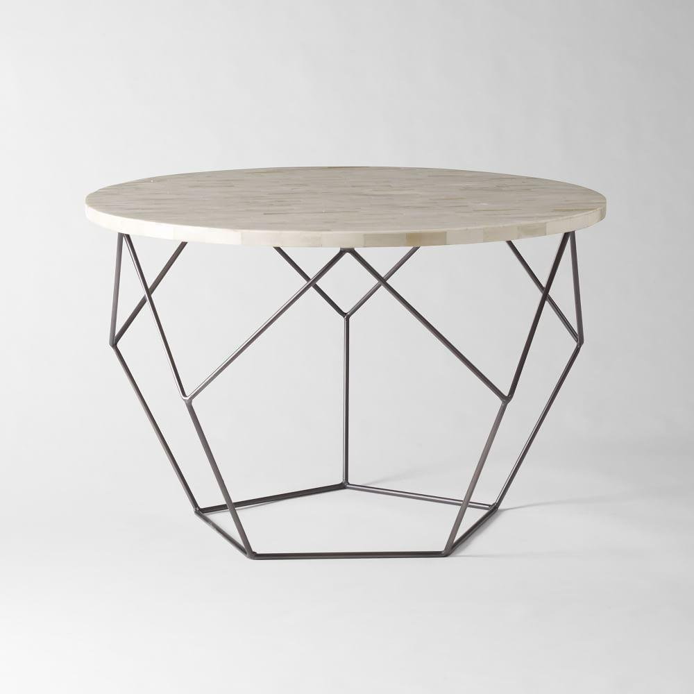 Origami coffee table west elm uk for West elm geometric coffee table