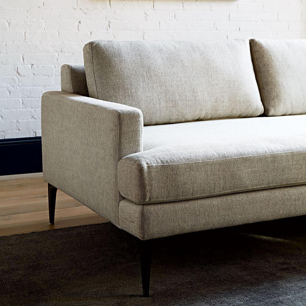 Andes 3 piece chaise sectional west elm uk for Chaise 3 pieds