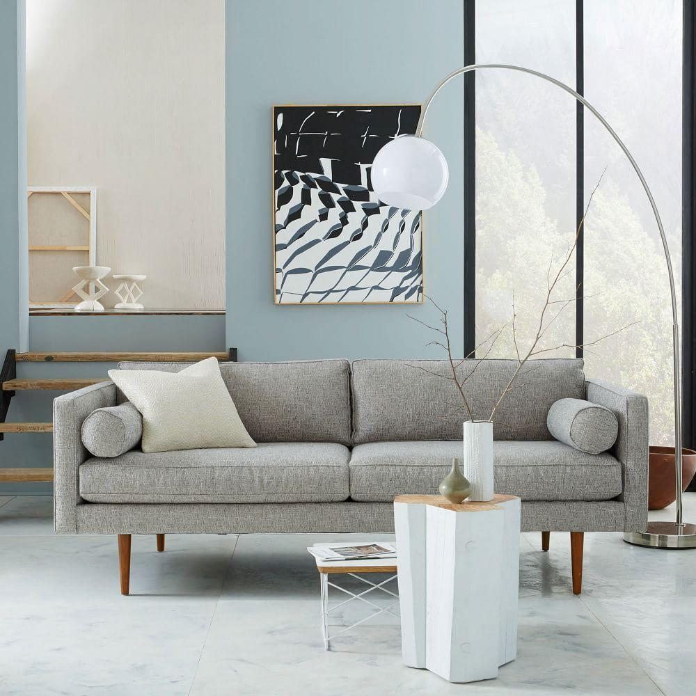 Monroe Mid Century Sofa 203 Cm West Elm Uk