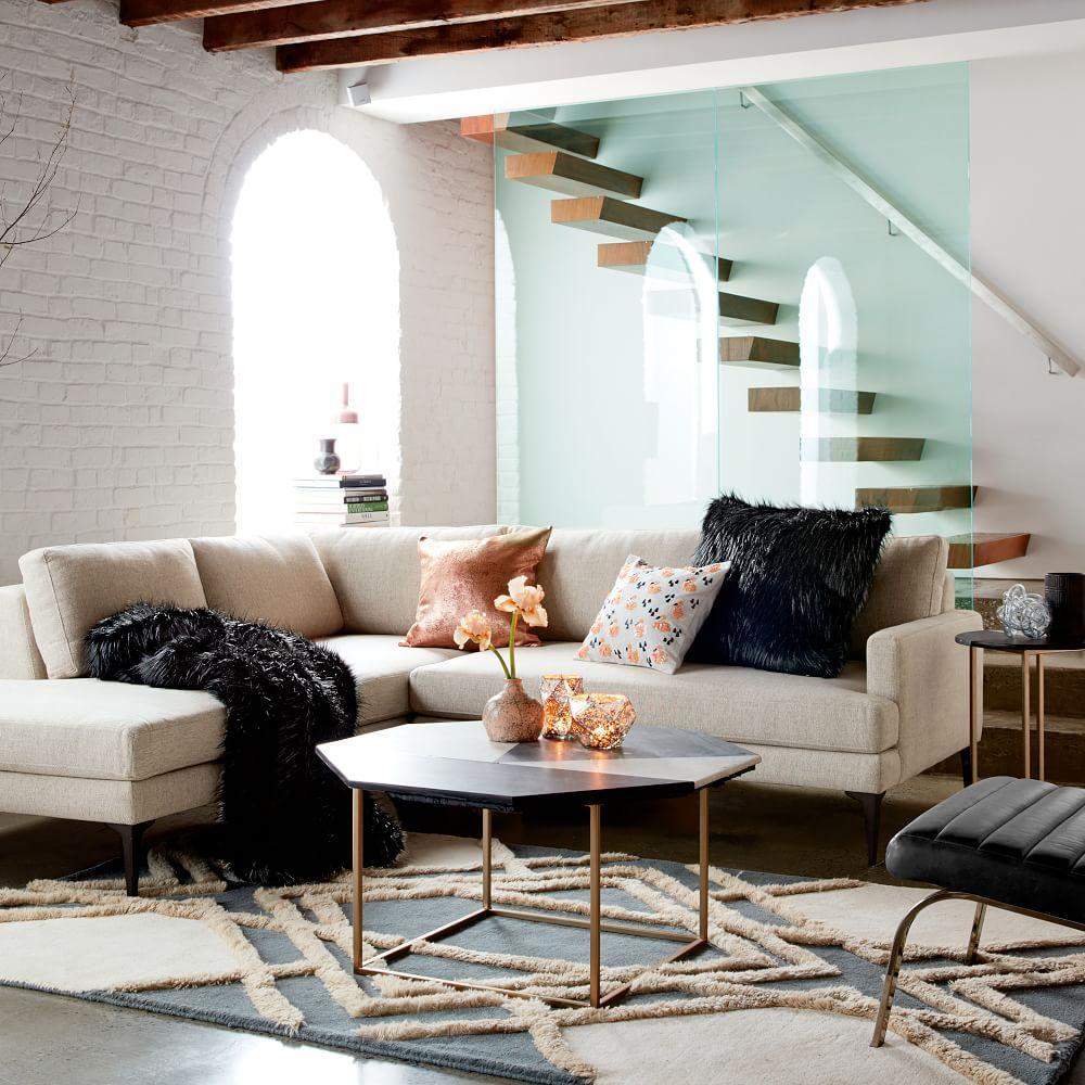 Marquetry marble coffee table west elm uk marquetry marble coffee table geotapseo Choice Image