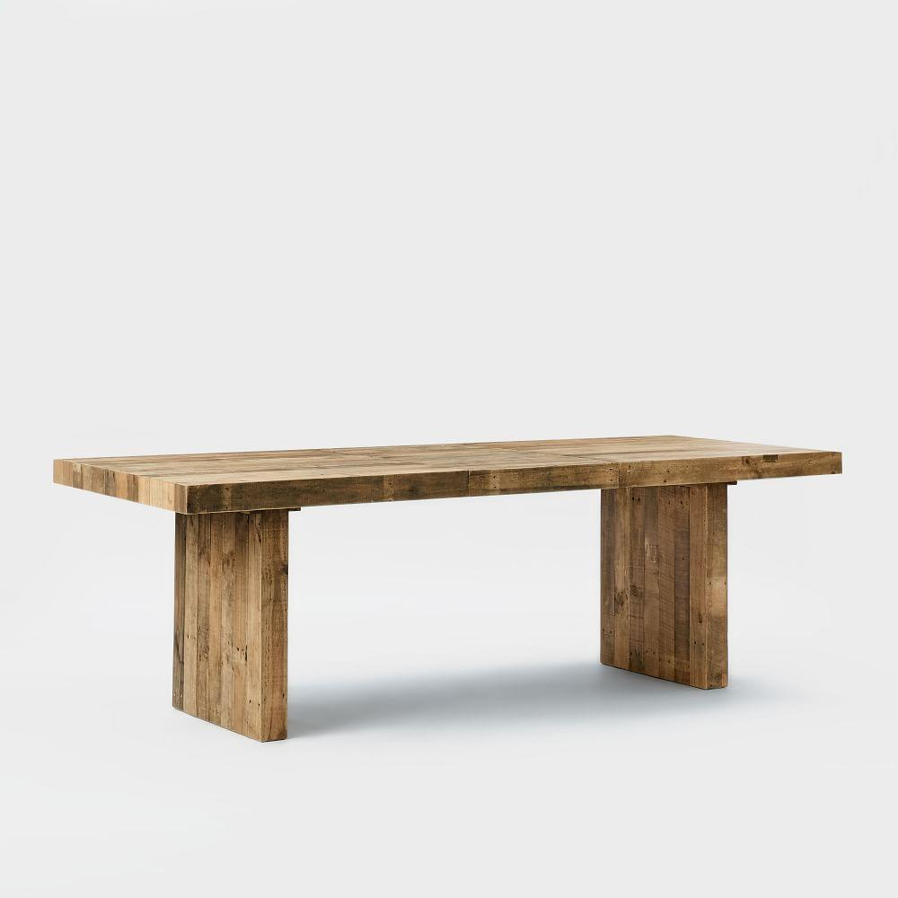 Emmerson Reclaimed Wood Expandable Dining Table West Elm Uk