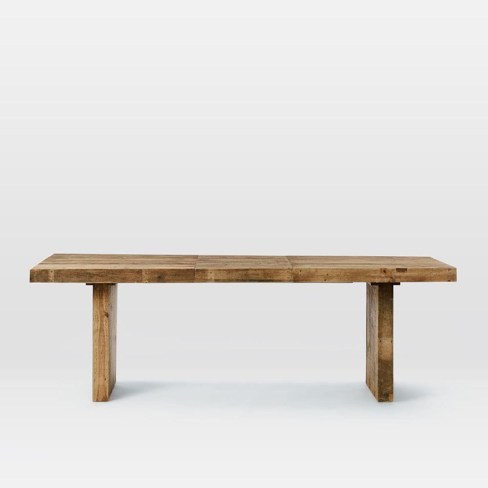 emmerson reclaimed wood expandable dining table west elm uk. Black Bedroom Furniture Sets. Home Design Ideas