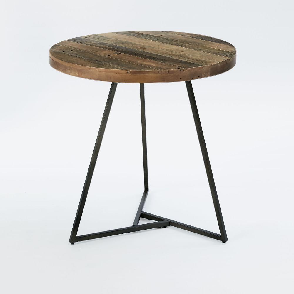 emmerson reclaimed wood cafe table west elm uk. Black Bedroom Furniture Sets. Home Design Ideas