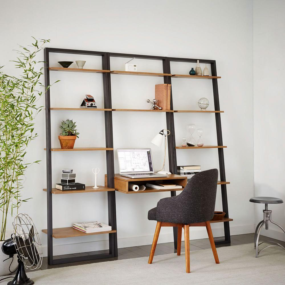 Ladder Shelf Storage Desk West Elm Uk