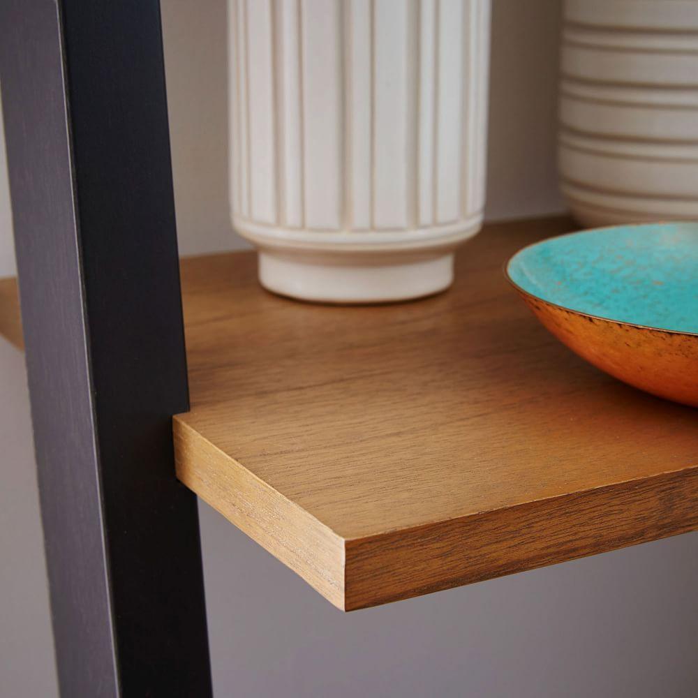 Ladder Shelf Storage Desk