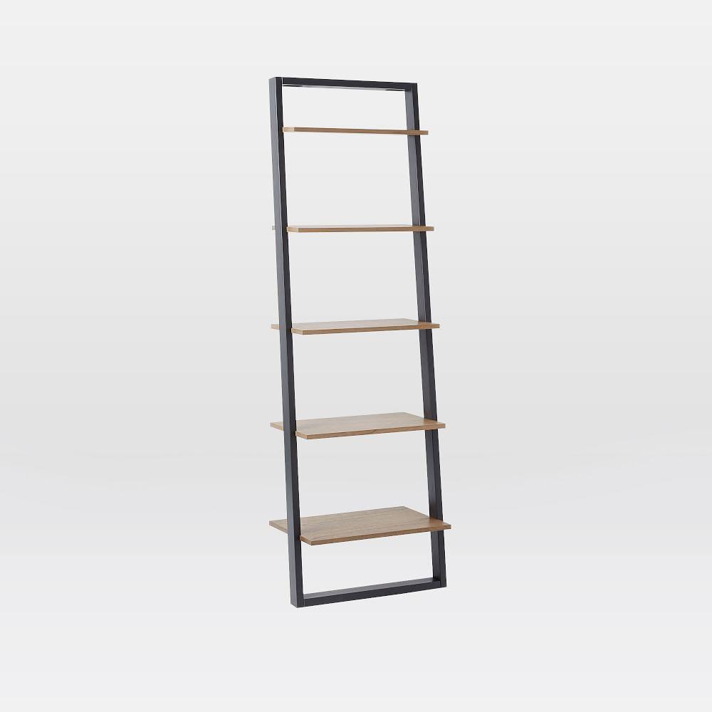 Ladder Shelf Desk Wide Bookshelf Set West Elm Uk