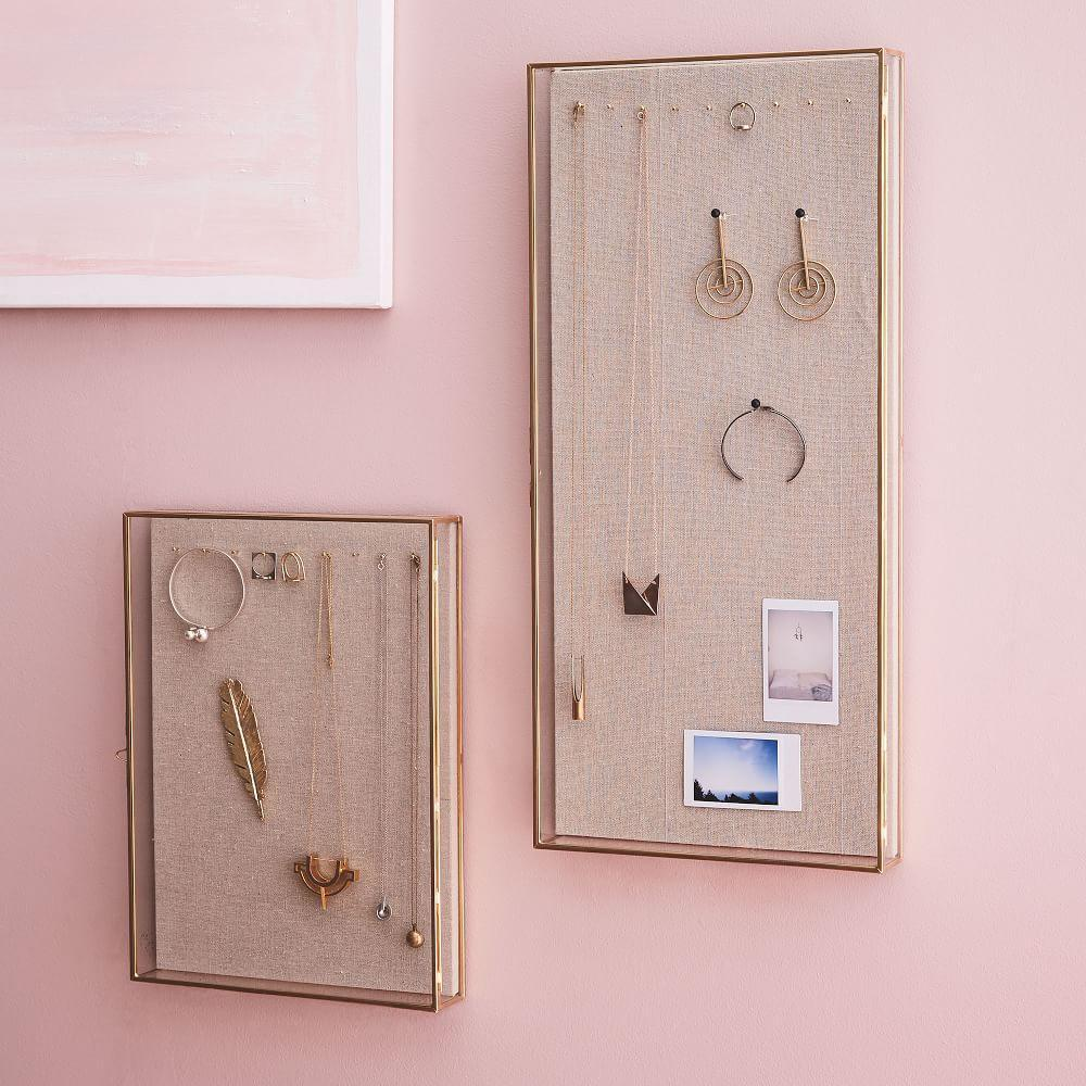 Terrace Glass Wall-Mounted Shadow Boxes