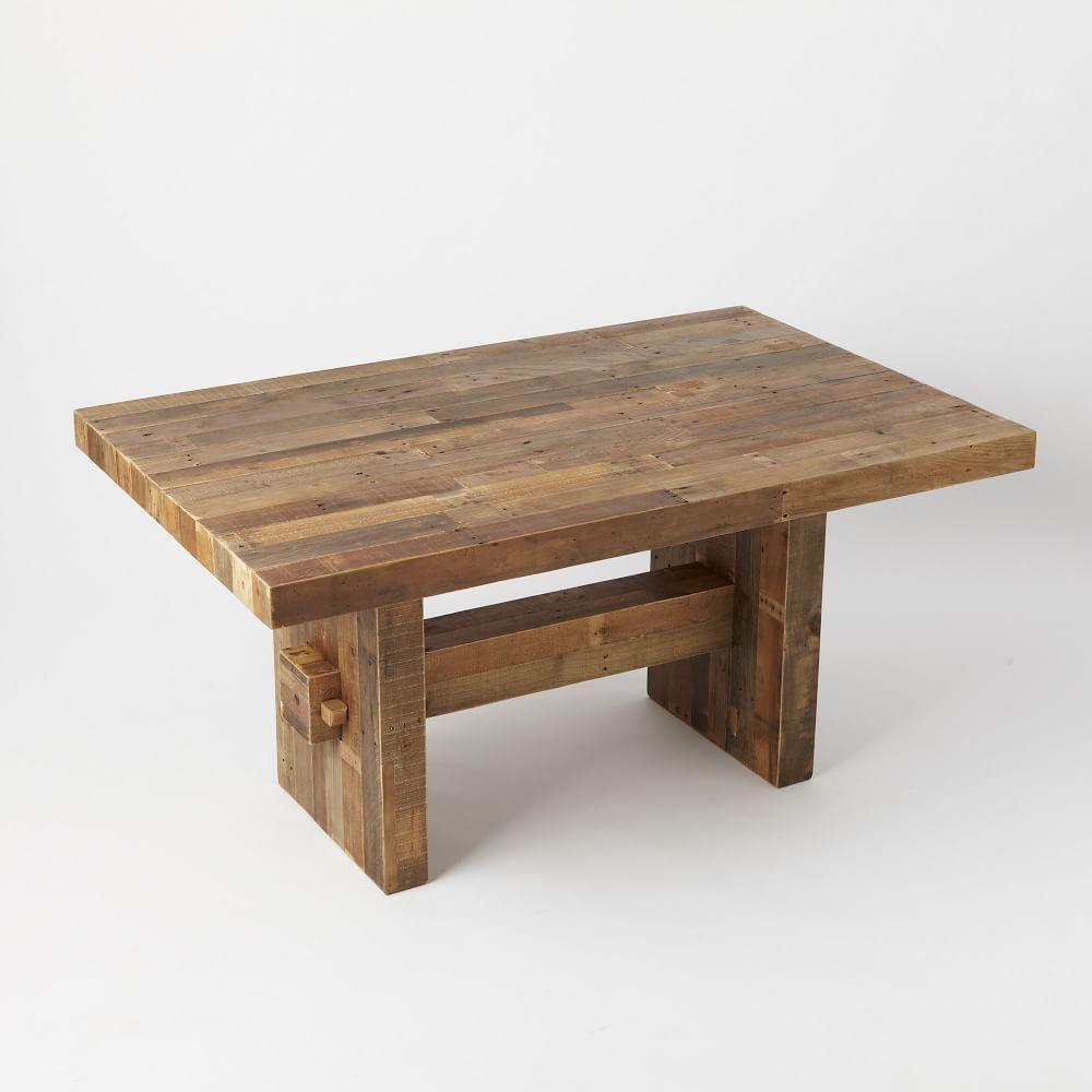 emmerson reclaimed wood dining table west elm uk. Black Bedroom Furniture Sets. Home Design Ideas