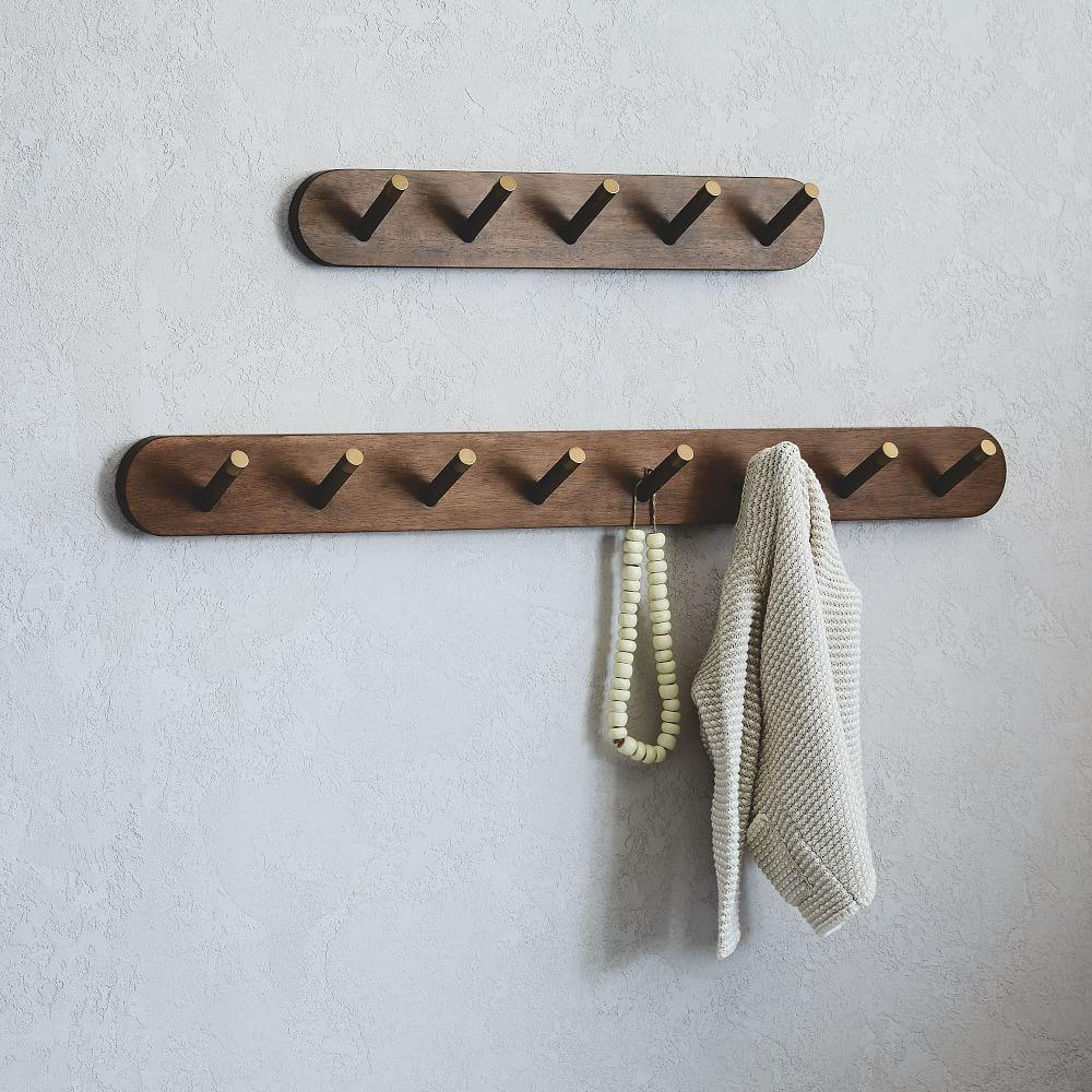 new mounted cool hooks natural mount classy racks decorative wall amazing with astonishing coat rack