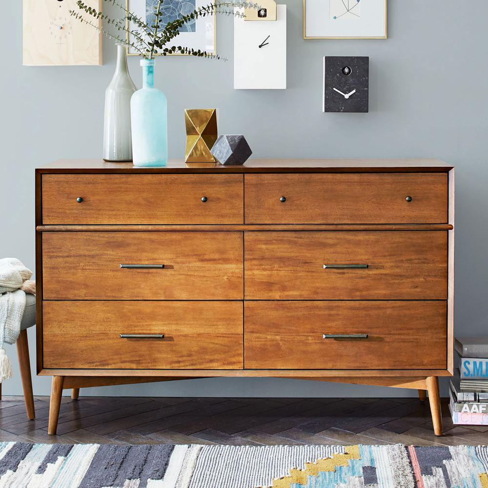 Mid Century 6 Drawer Chest   AcornMid Century 6 Drawer Chest   Acorn   west elm UK. Mid Century Sofa Buy Uk. Home Design Ideas