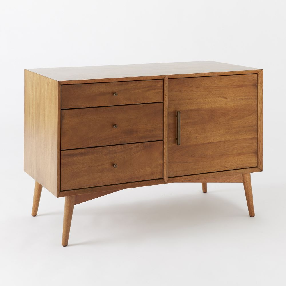 mid century sideboard small west elm uk. Black Bedroom Furniture Sets. Home Design Ideas