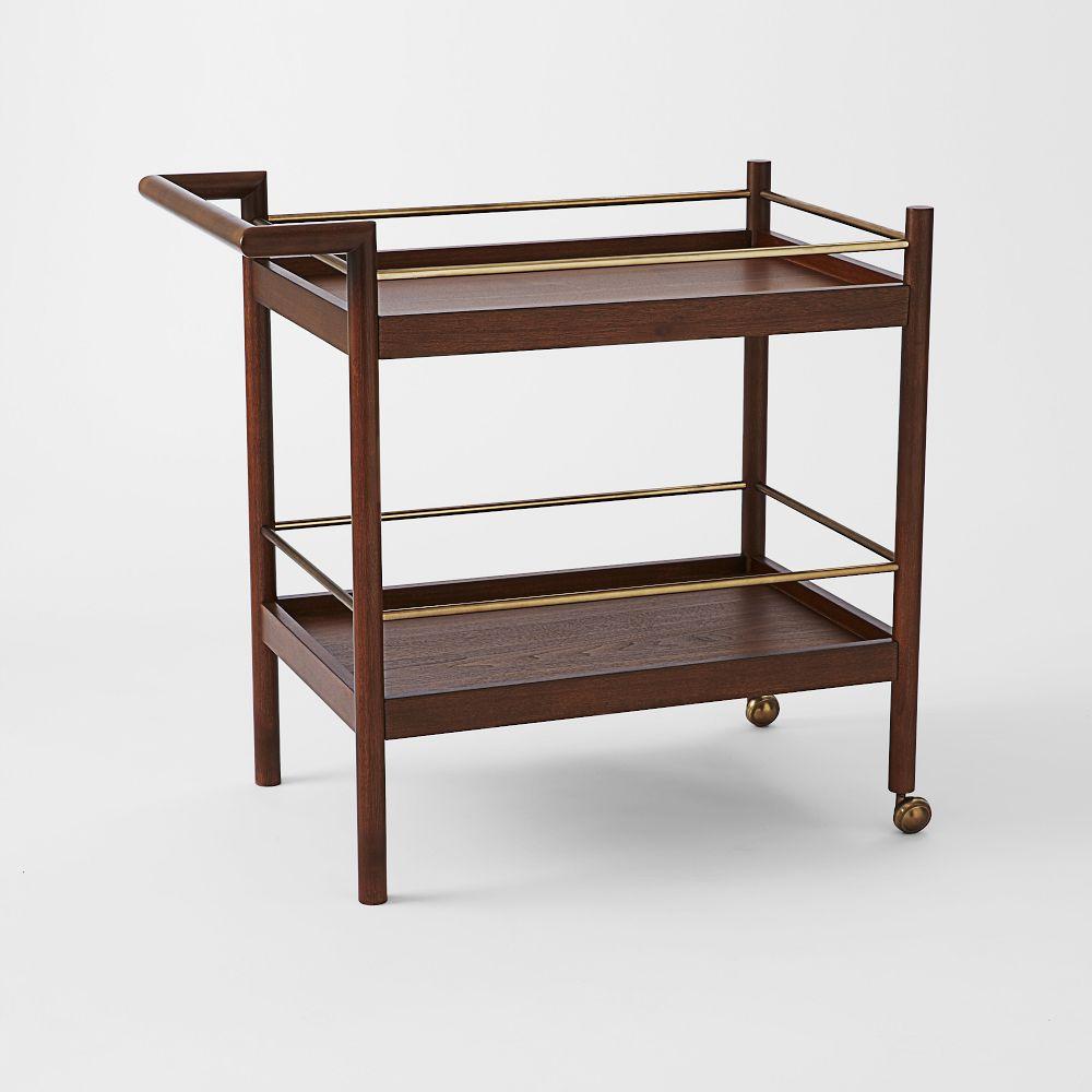 mid century bar cart west elm uk. Black Bedroom Furniture Sets. Home Design Ideas