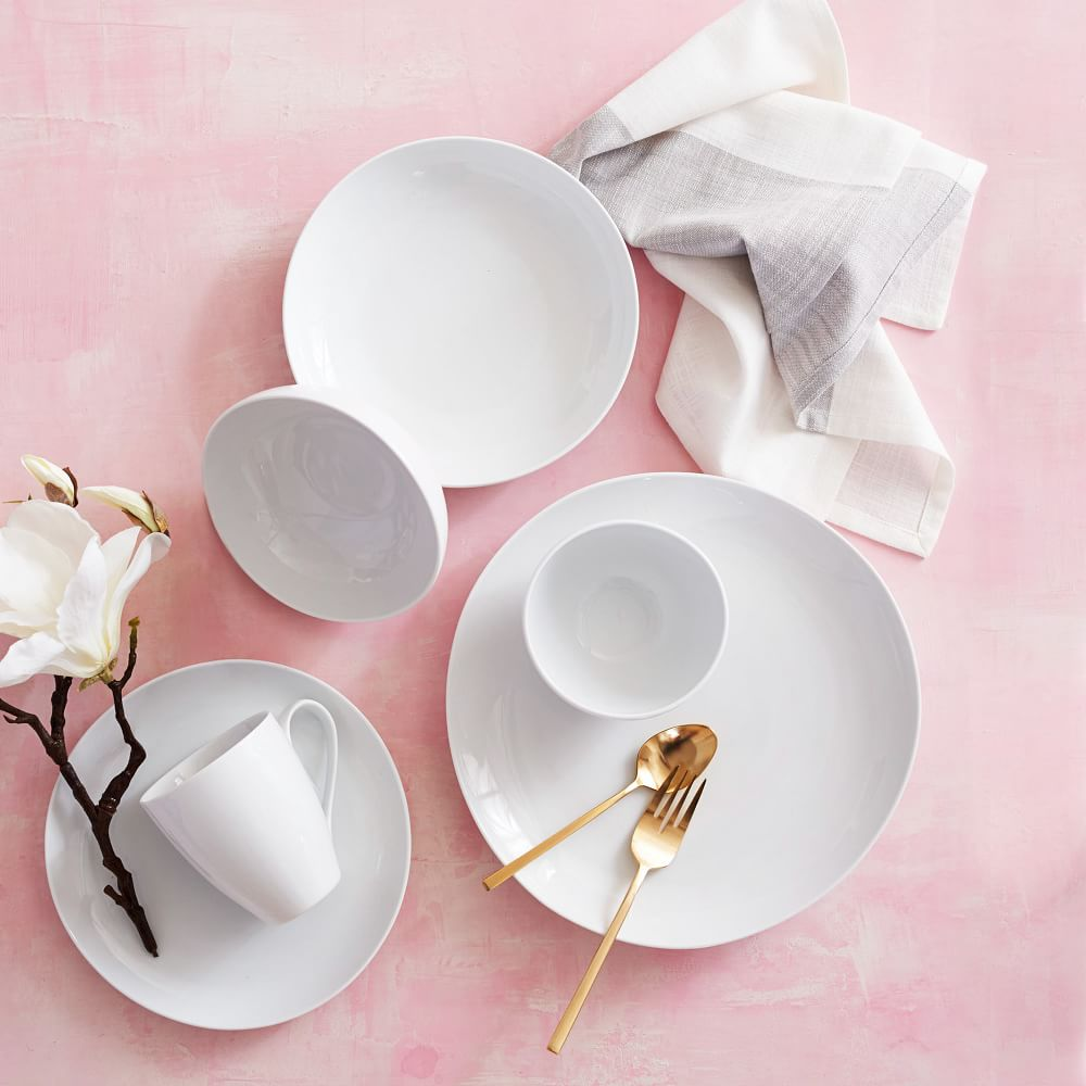 Organic Shaped Dinnerware Set