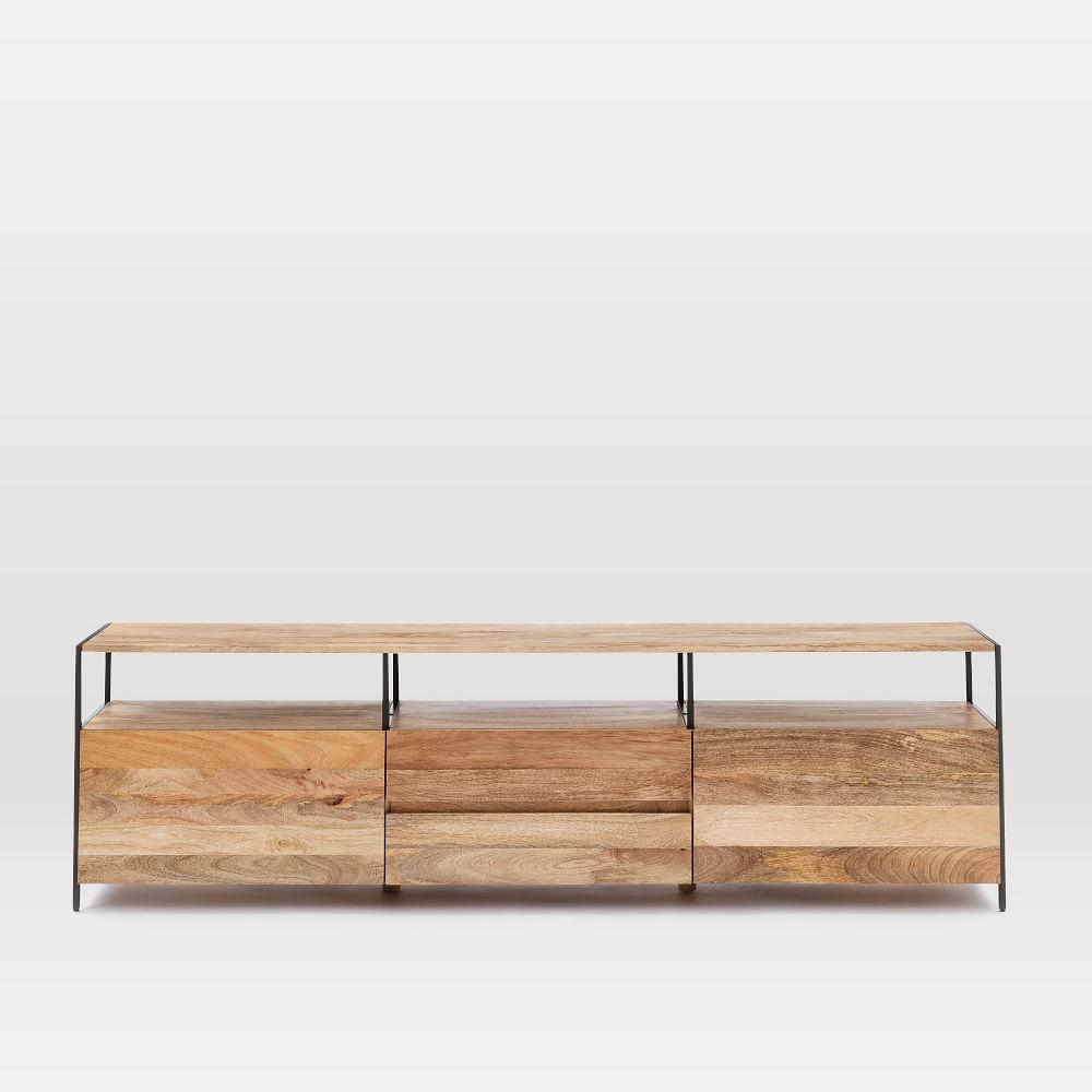 Industrial Storage Media Console 203cm West Elm Uk