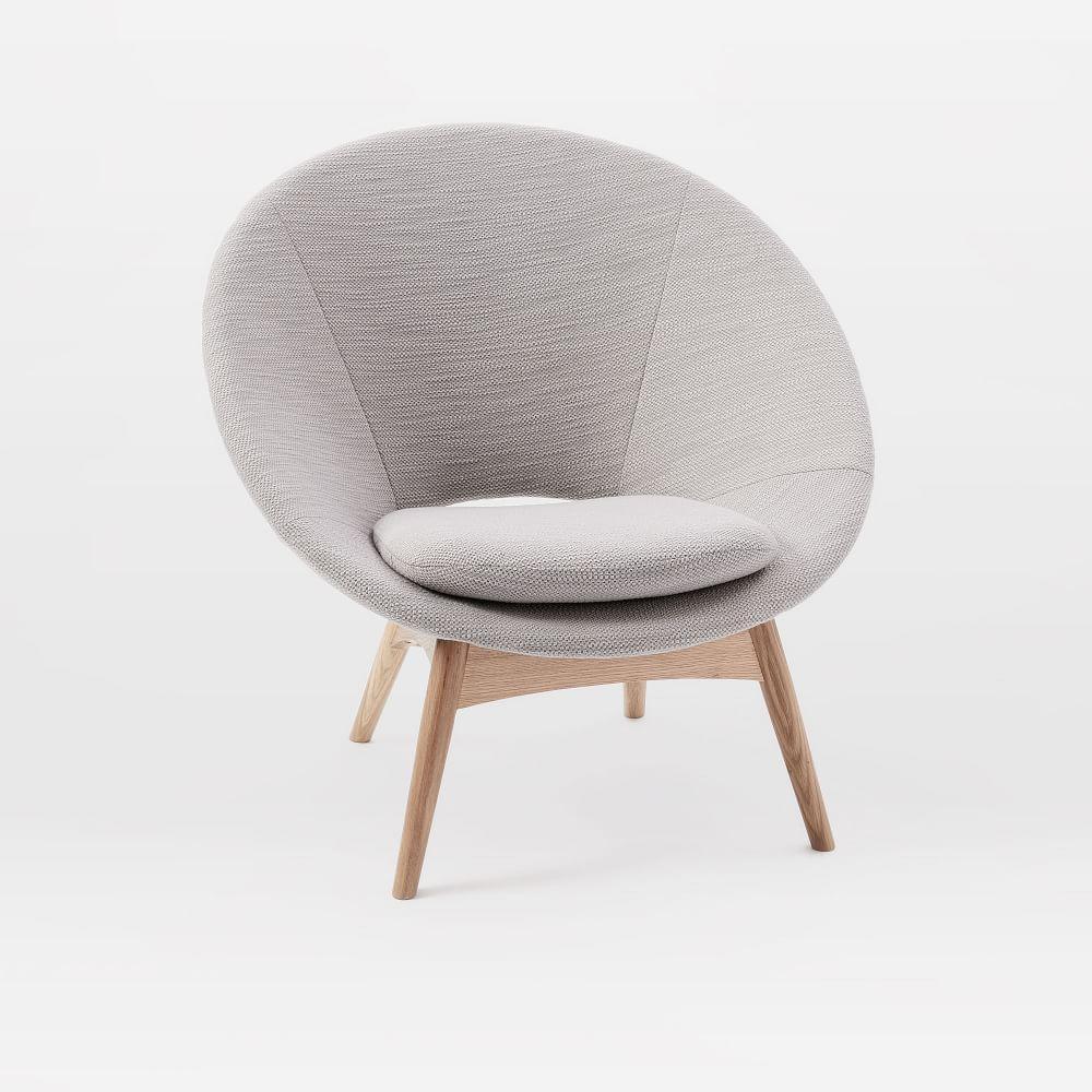 Luna Chair Feather Grey West Elm Uk