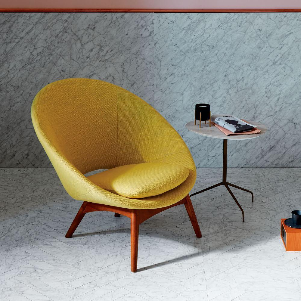 Luna Chair Yellow West Elm Uk