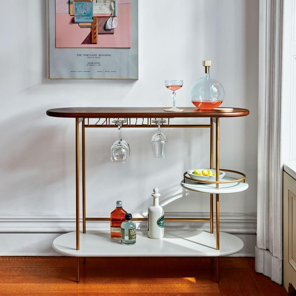 Tiered Bar Console West Elm Uk
