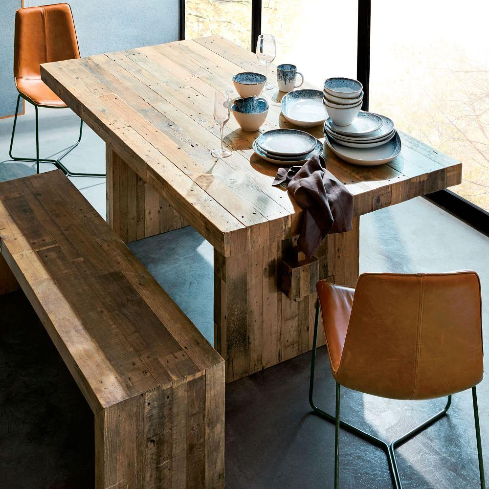 Reclaimed Wood Table ~ Emmerson™ reclaimed wood dining table west elm uk