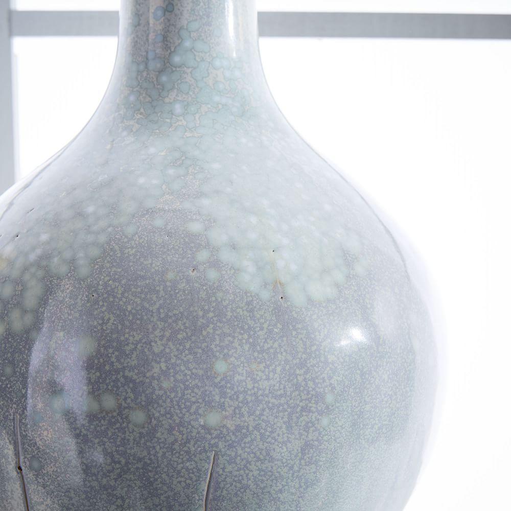 Reactive Glaze Vases - White