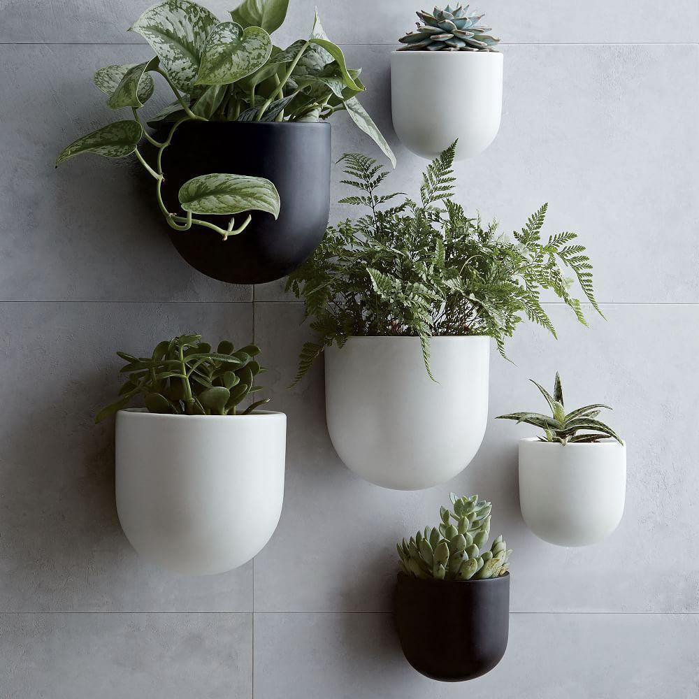 Ceramic Wallscape Planters West Elm Uk
