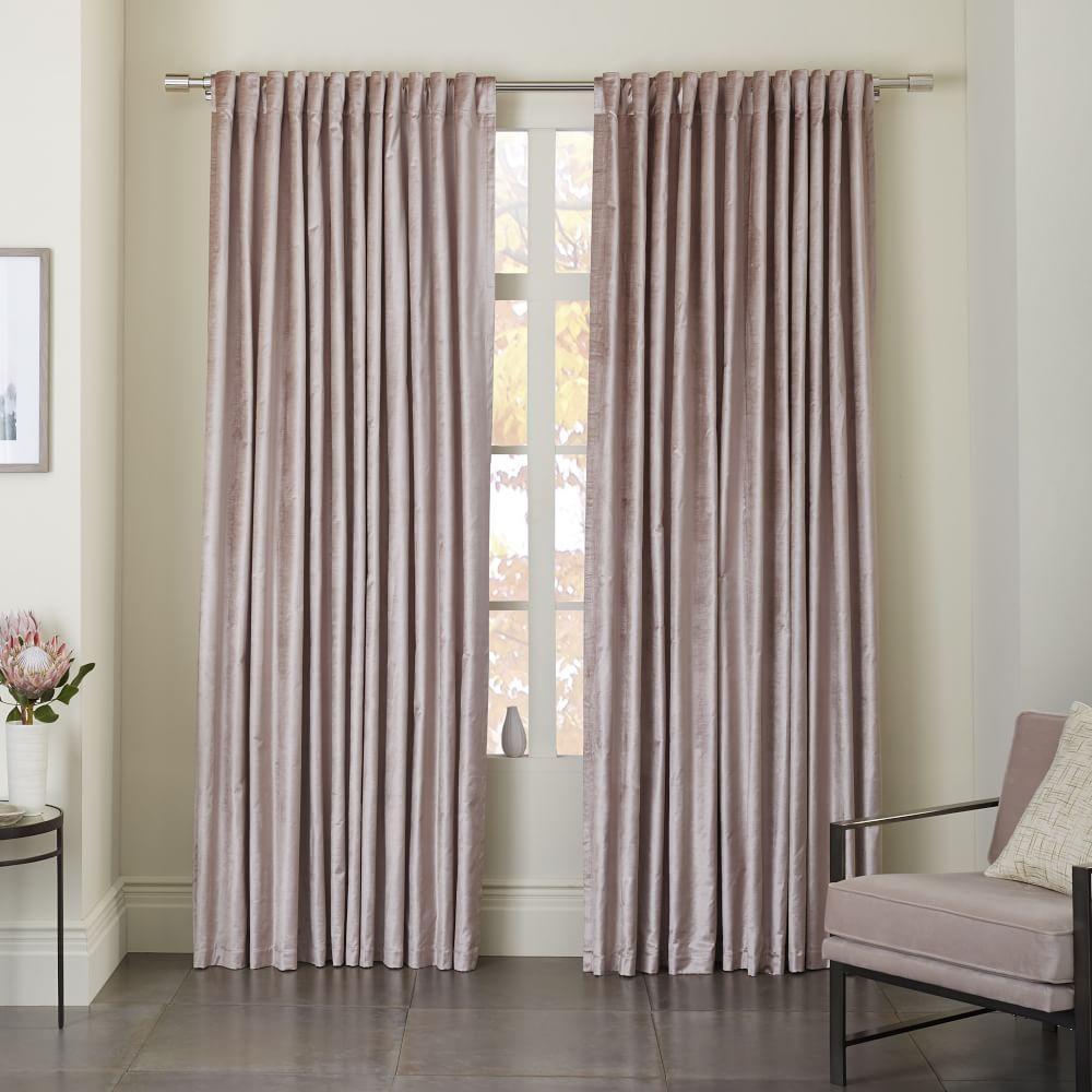 price wide signature pin double curtains curtain blackout half drapes velvet