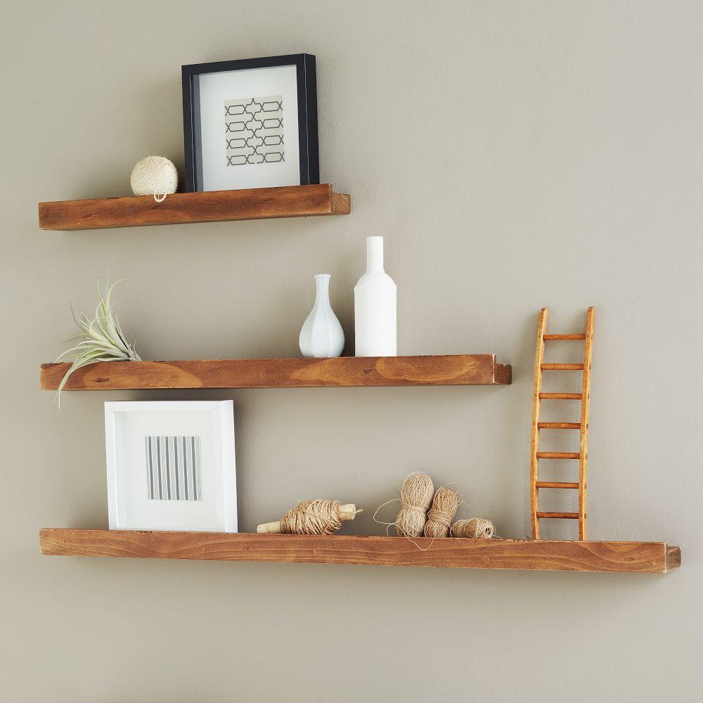 deep picture ledge salvaged wood. Black Bedroom Furniture Sets. Home Design Ideas