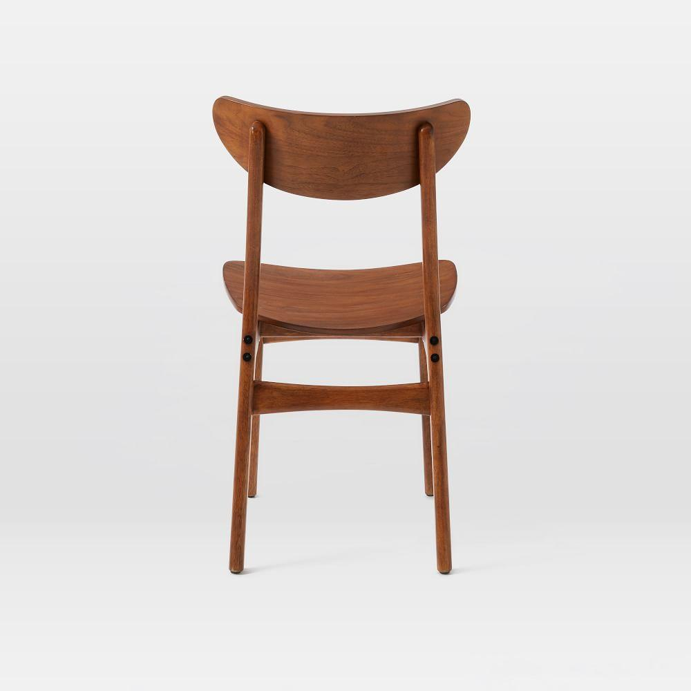 Classic Café Walnut Dining Chair