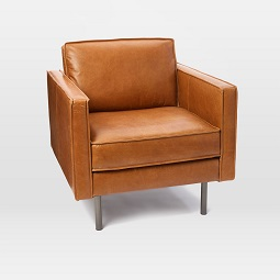 Axel Leather Armchair