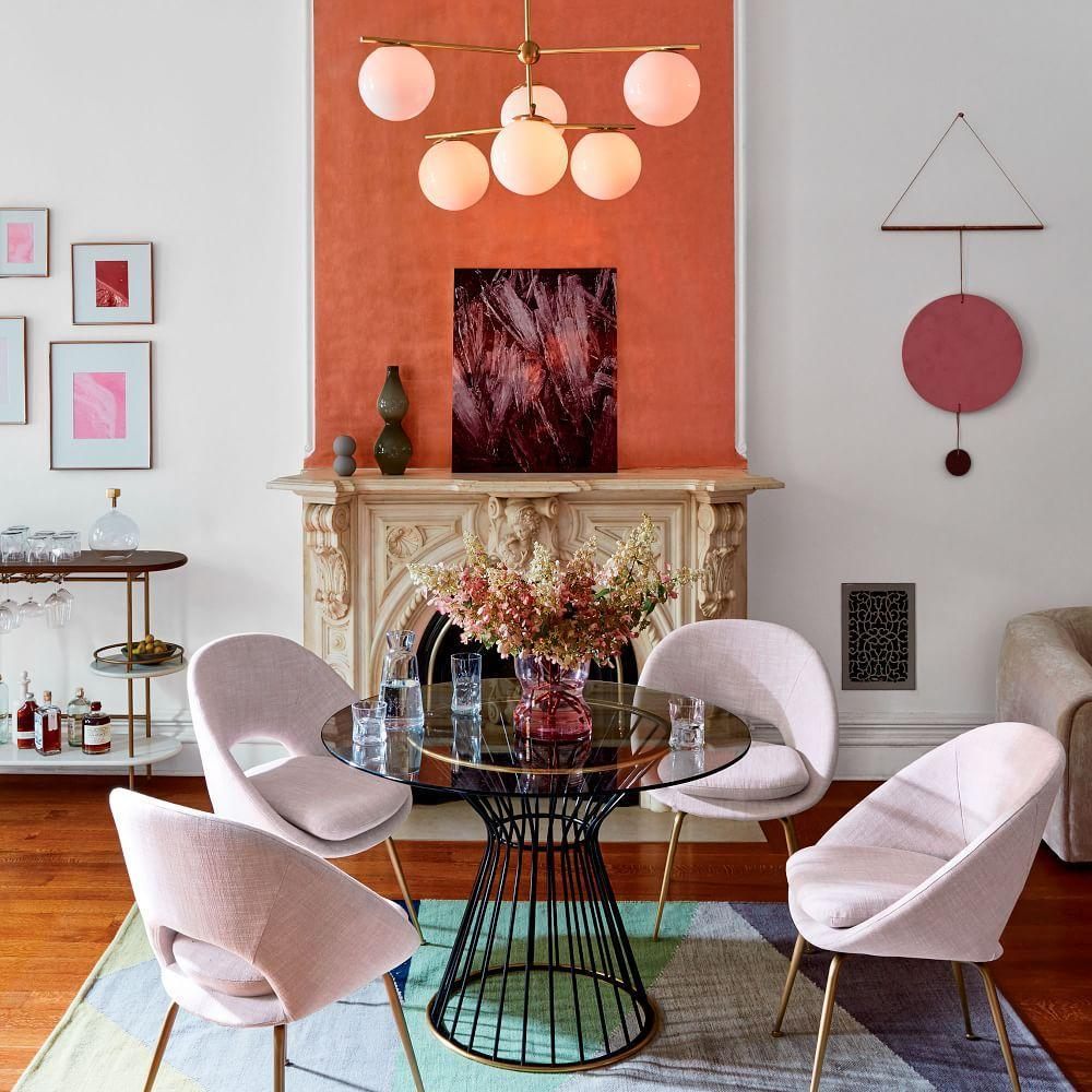 Hourglass Dining Table | west elm UK