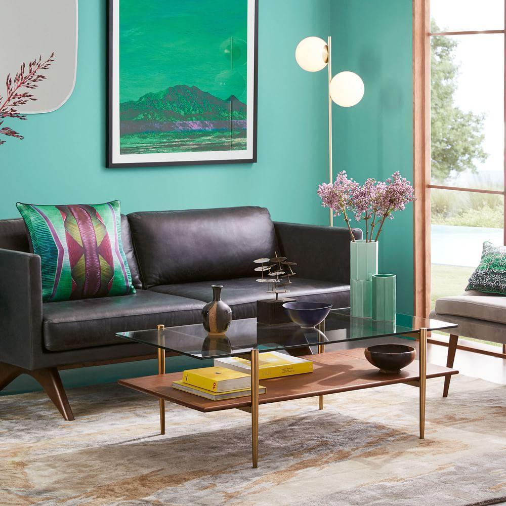 Art Display Coffee Table