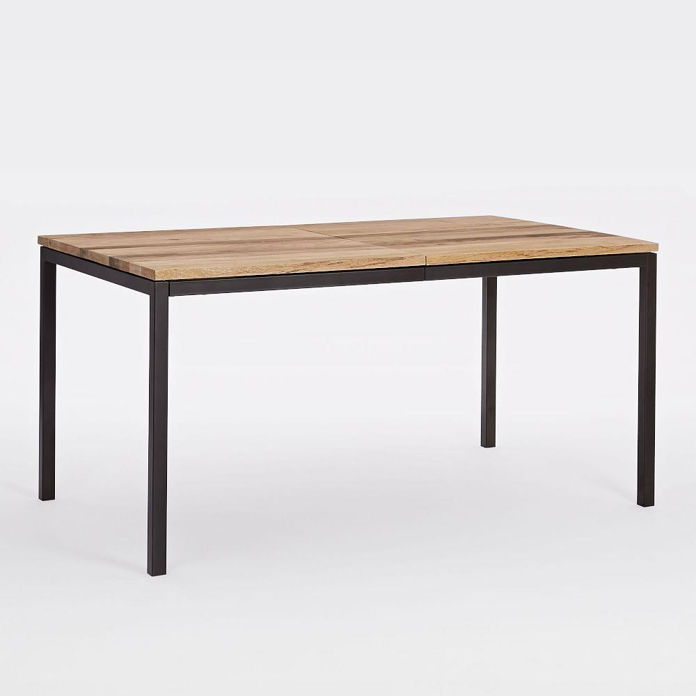 Box frame expandable dining table west elm uk for Dining table frame