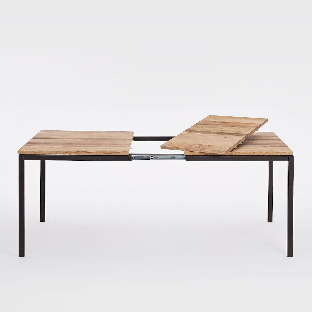 Box Frame Expandable Dining Table West Elm Uk