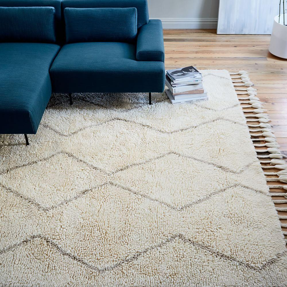 Souk Wool Rug - Ivory/Natural