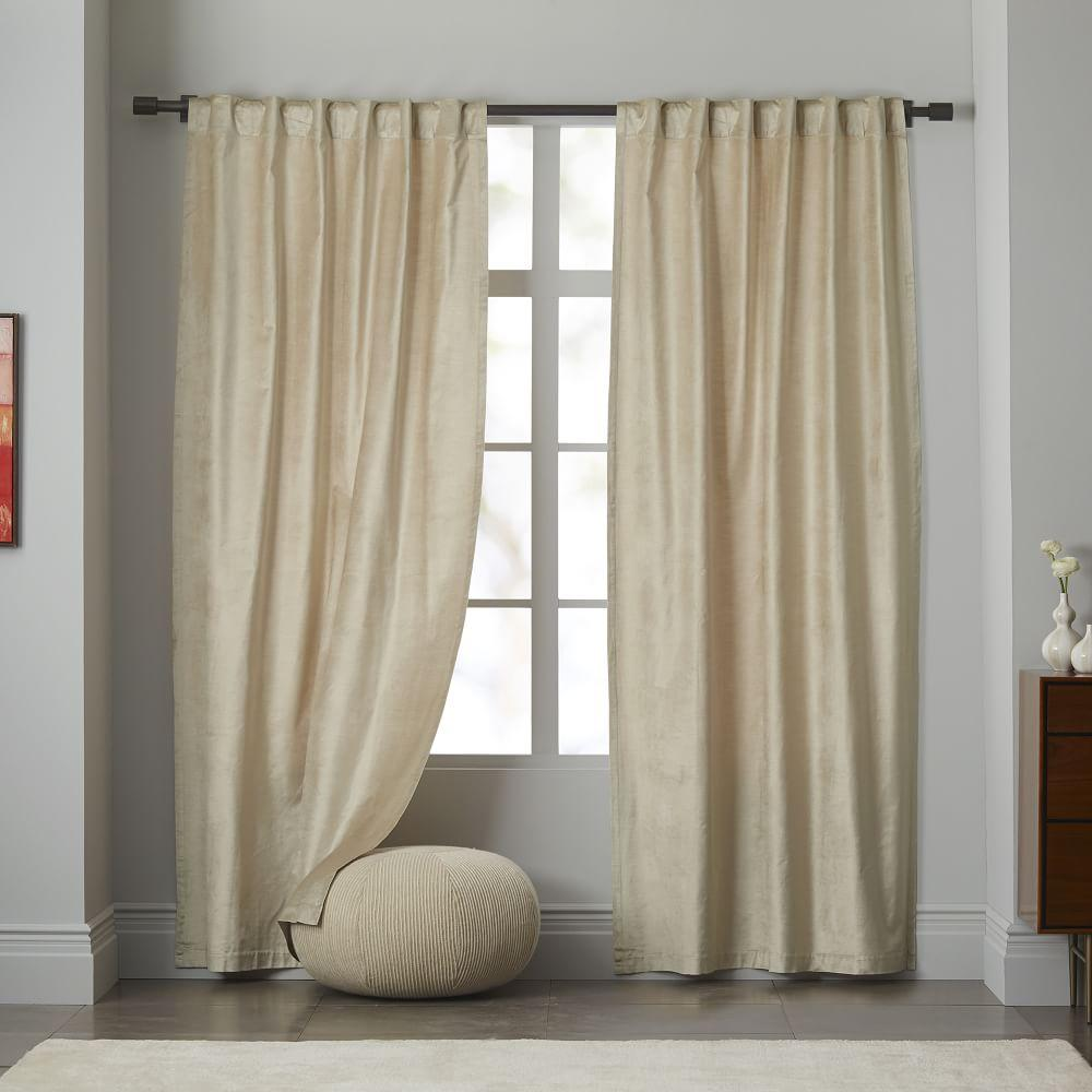crushed pair ready itm top curtains eyelet charcoal fully of blackout sienna lined velvet made ring