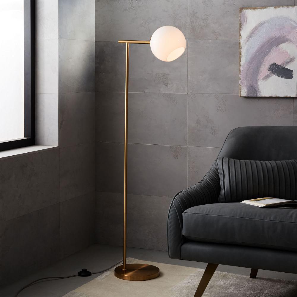 Staggered Glass Floor Lamp West Elm Uk