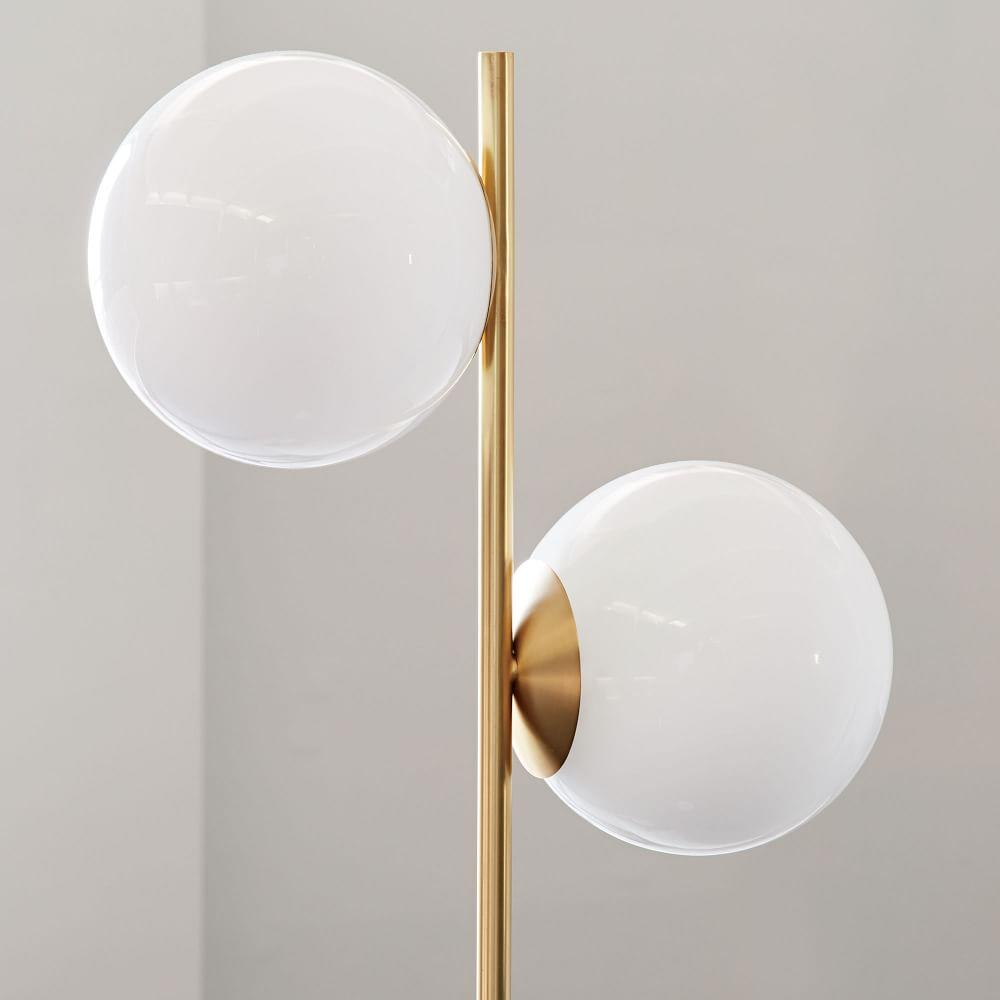 Sphere + Stem Floor Lamp | west elm UK