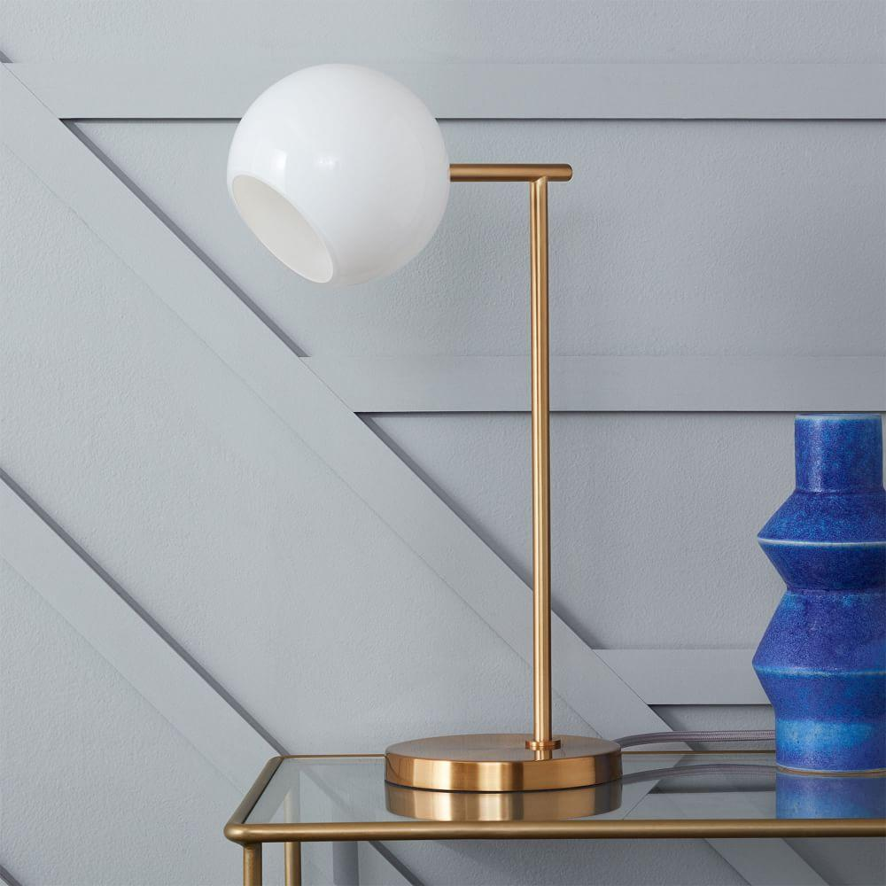 West Elm Lamps: Staggered Glass Table Lamp