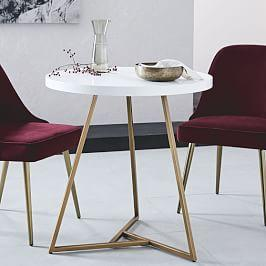 Lacquer Top Cafe Table