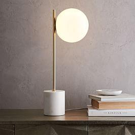 Table lamps west elm uk sphere stem table lamp mozeypictures Images