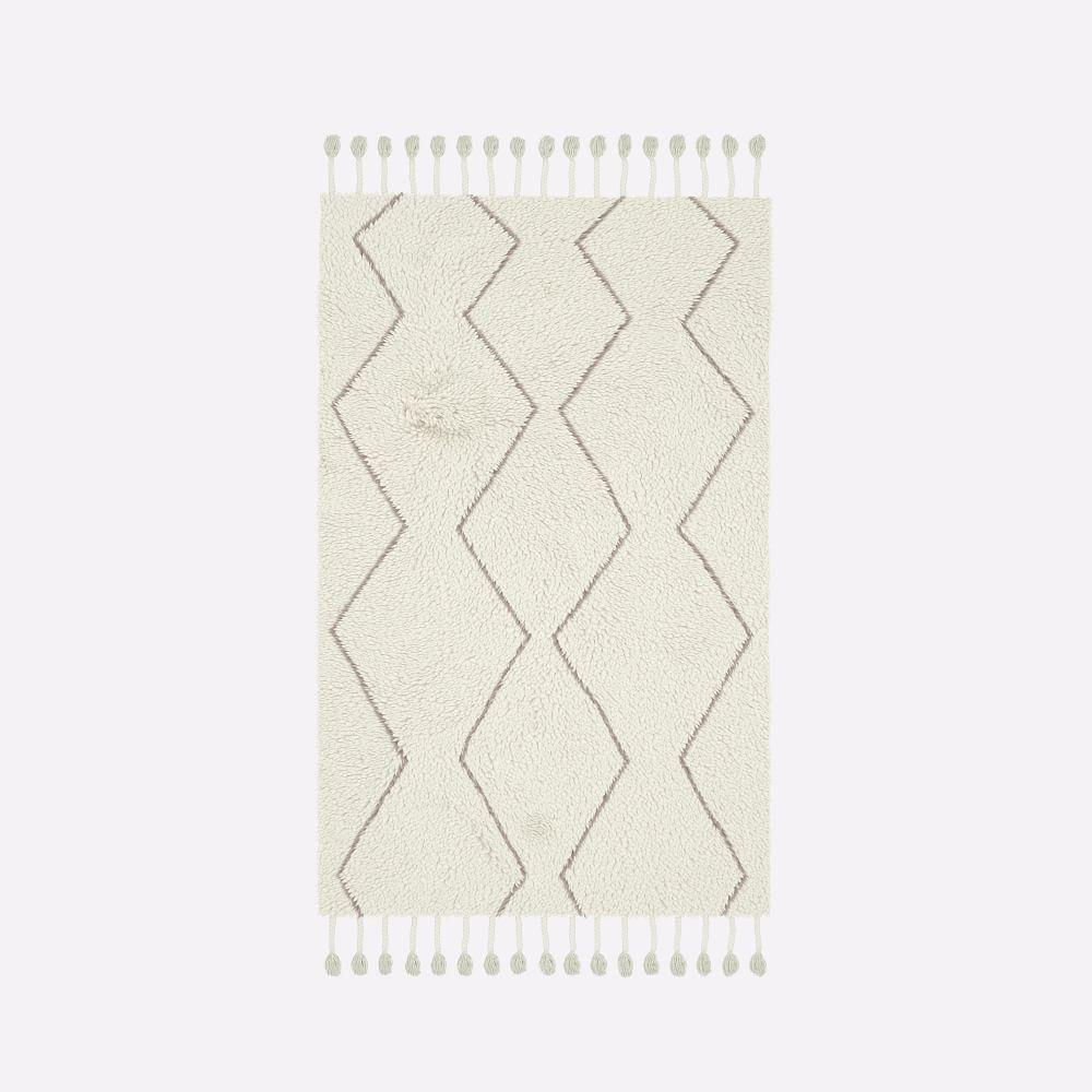 Souk Wool Rug - Ivory/Natural